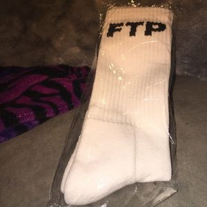 FTP (Limited Edition White) Socks